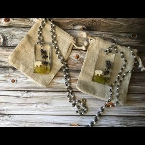 Elephants in the Wild Necklace